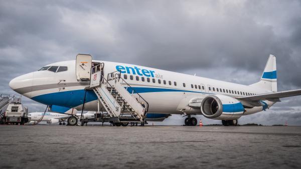 Poegnanie ostatniego Boeinga 737 400 w barwach Enter Air