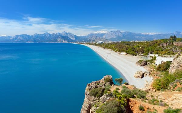 Blue lagoon and Konyaalti beach in Antalya2