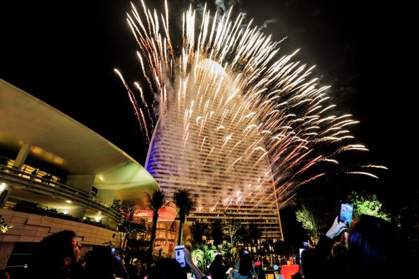 Fireworks Display Sanya China