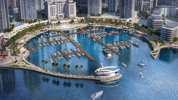 Creek Marina at Dubai Creek Harbour 2