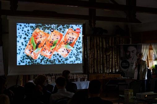 prezentacja menu franczyzobiorcom