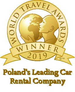 polands leading car rental company 2019 winner shield 256