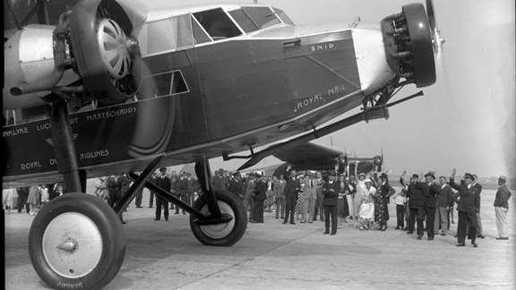 KLM pierwszy lot transatlantycki