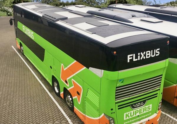FlixBus Panele soneczne