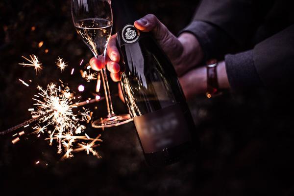 wino musujace na Sylwestra