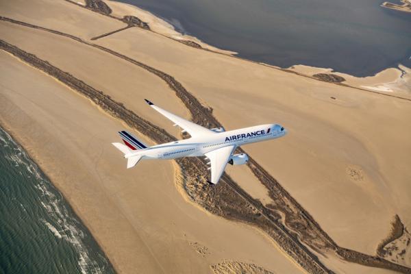 Air France w powietrzu